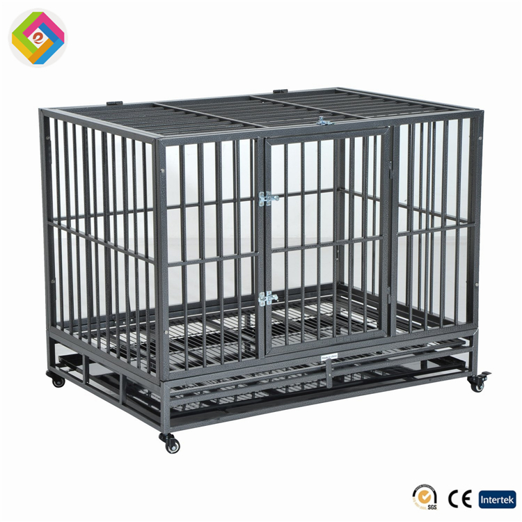 folding wire mash metal welded modular dog kennel