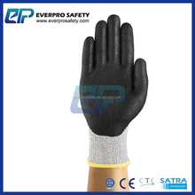 Palm Coated PU Water Based Puncture Resistant Gloves