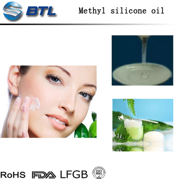 Skin care cosmetics silicone oil