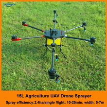 GPS Remote Control Drone for Farming Drone Crop Sprayer Gyroplane with Camera, Radar