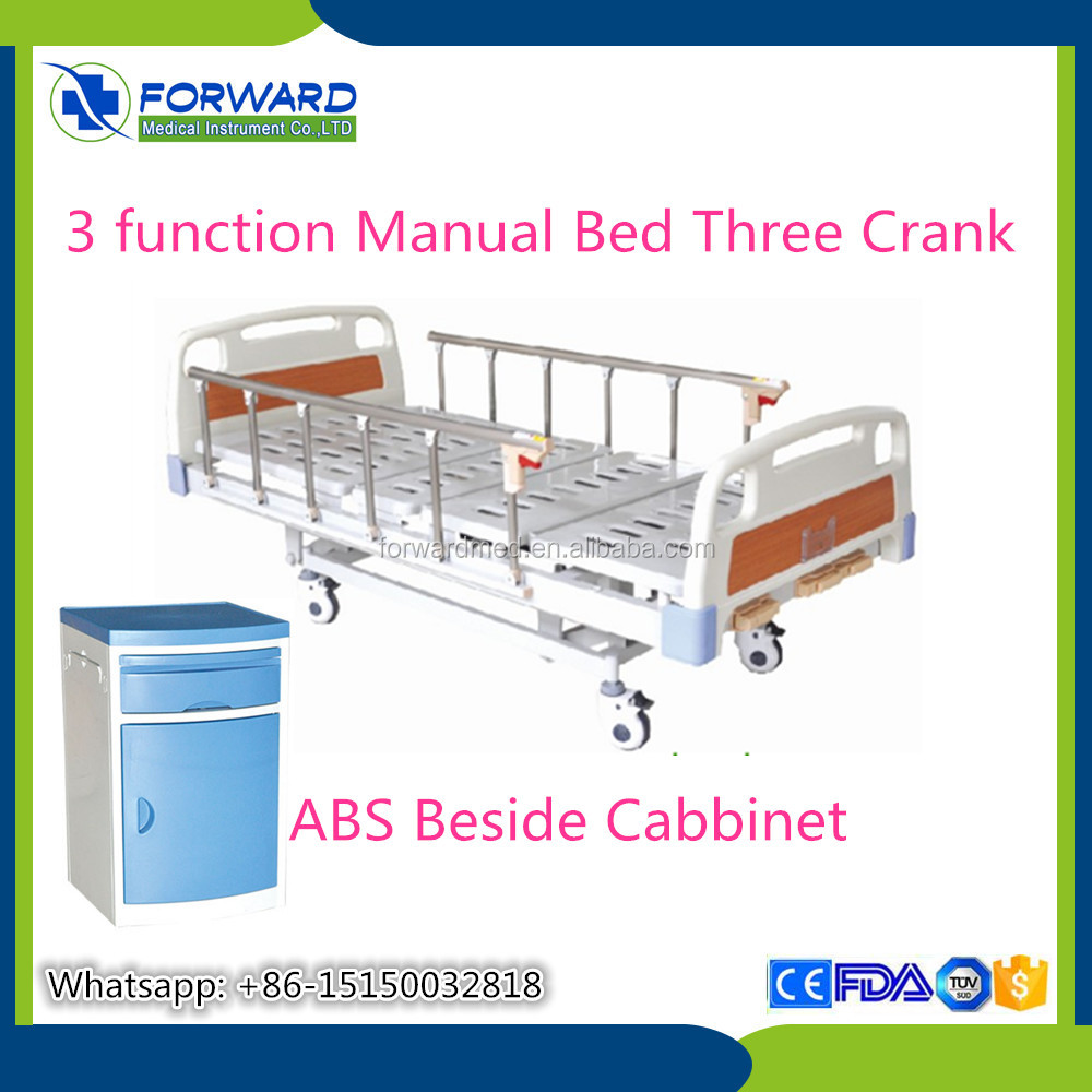 furniture Manufacturers Three Manual Crank stryker hospital beds