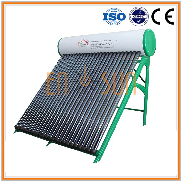 Excellent Material evacuated tube portable latest design heat pipe solar water heater