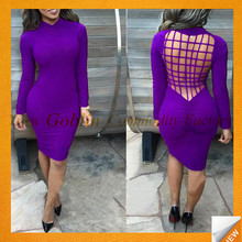 GBIY-723 2016 Hot Selling Top Quality Backless Dress Short Sexy Tight Dress Porn Designer One Piece Party Dress in Stock