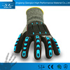QL lumberjack work hand gloves for construction work