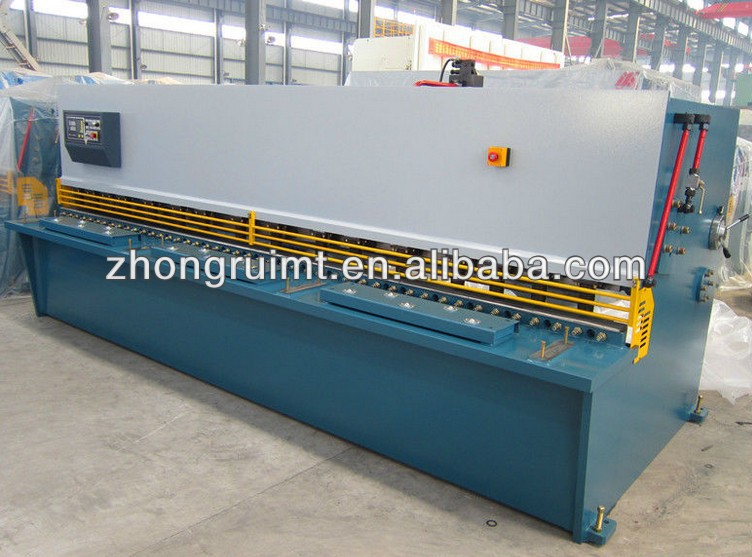 QC12K 12x3200 shearing machine E20 nc hydraulic guillotine shear for plate