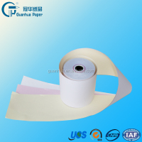 Customized High surface strength 3 ply carbonless NCR paper