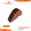WB0048 Wooden Stand 3pcs Slotted Knife Block Different Colors