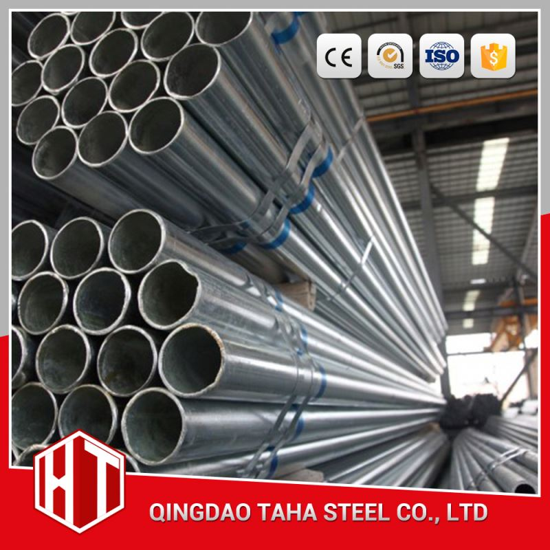 faco gi rhs ! pre galvanized steel pipe tianjin q235 galvanized water well steel tube