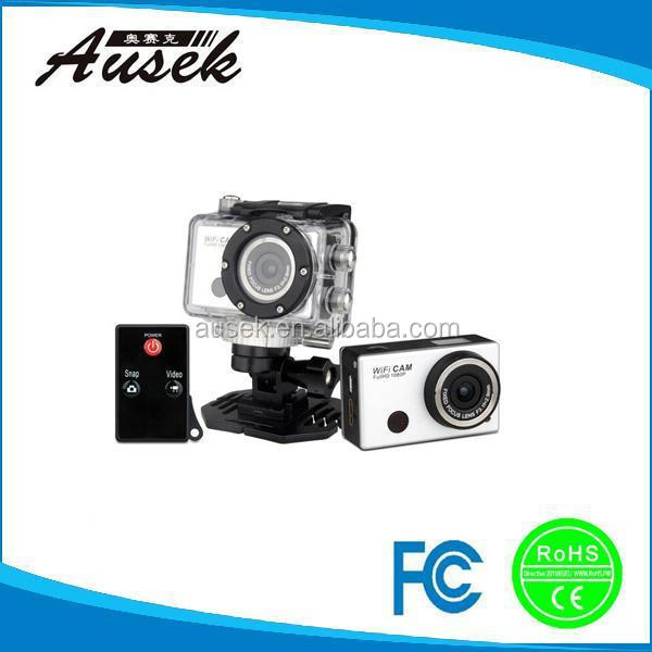 Manufacturer extreme camshot 1080p night vision action sports camera waterproof