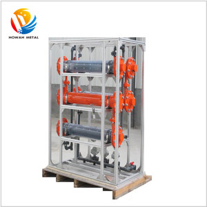 Hot sales Automatic electrochlorination system with dsa electrode for waste water disinection