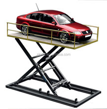 Hot sale !! fixed hydraulic scissor car lift for garage parking lot
