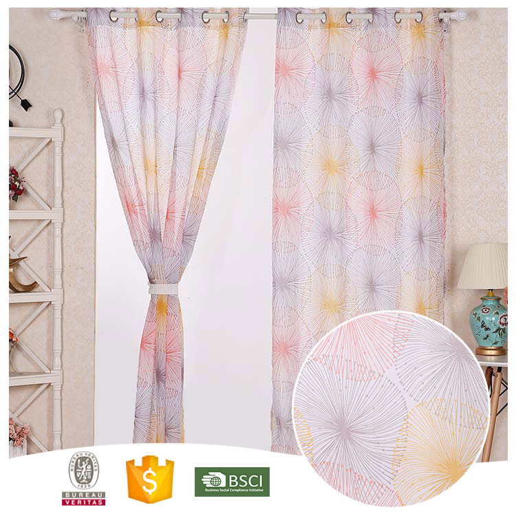 Hot Selling 10 Years Experience Good Looking kitchen embroidered curtains with valance