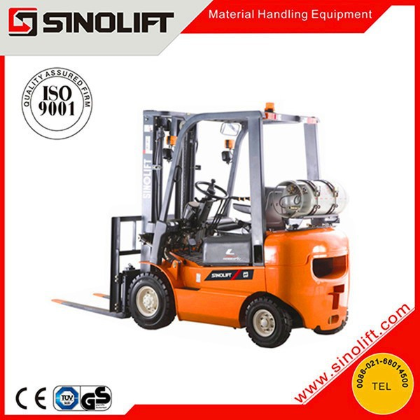 2015 SINOLIFT L Series Hot Sale 2.5T Gasoline LPG Counterbalanced Fork Lifters