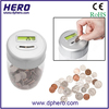 magic money box counting counter coins usd uk euro zloty