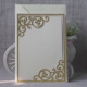 Ideal Products 2016 Printable Powder Blank Beige Wedding Invitation Cards