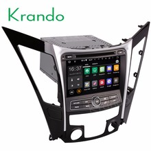 Krando Android 7.1 car navigation gps dvd player for hyundai sonata 8 I40 I45 I50 YF 2011 2012+ car multimedia WIFI 3G KD-HY818