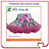 Good quality hot sell puffy lace fabric wedding petticoat