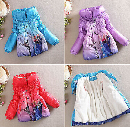 Wholesale clothes for kids children clothing factory girls winter coat