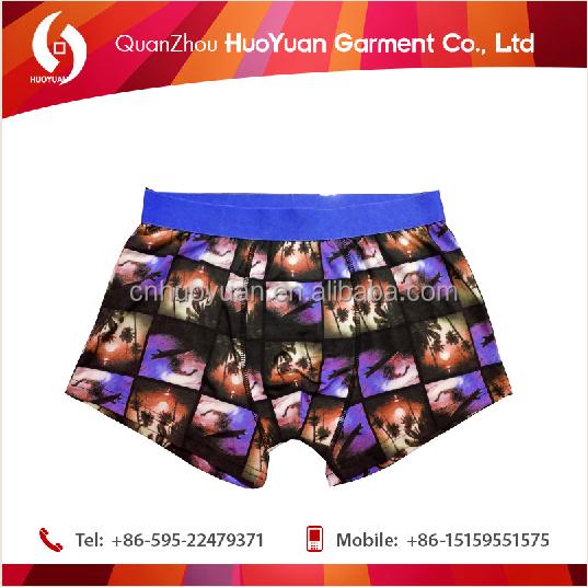 customiz underwea huoyuan print boxer,micro man underwear boxer,bulk boxers.cheap pric huoyuan