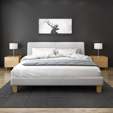 Simple styling furniture latest double bed designs with headboard