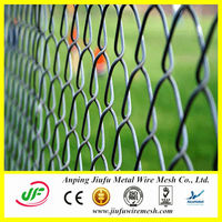 Best quality and cheap aluminum chain link fence (14 years' manufacturing)