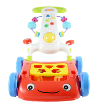 Inflatable Wheels Electric Musical Outdoor Baby Walker