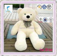 2016 hot Selling large size plush teddy bear toy for festival gift