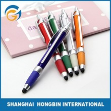 Plastic Stylus Promotional Retractable Banner Pens with Pull Out Paper