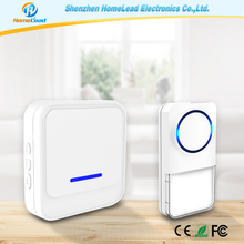 EU UK US Regulations Chime Rainproof Wireless Dingdong Doorbell, Dog Barking Doorbell Deaf Doorbell Light / Bell for Front Door