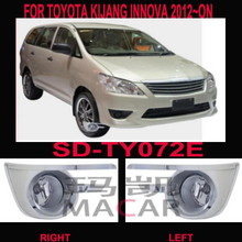 fog light for TOYOTA KIJANG INNOVA /ZACE 2012~ON,chrome cover