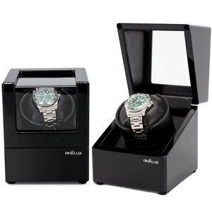 2019 Driklux Black Gloss 페인트 Automatic Watch Winder