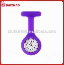 Top quality Brooch Type Nurses Silicone Watch