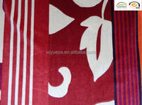 polyester knitted printed micro velvet fabric for garment