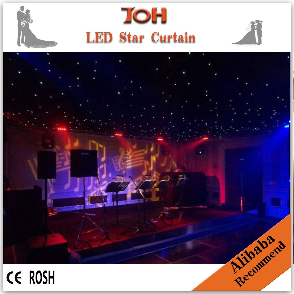 2014 hot sell DJ booths/led star cloth