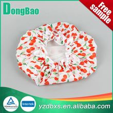 Customized colorful logo competitive novelty shower cap