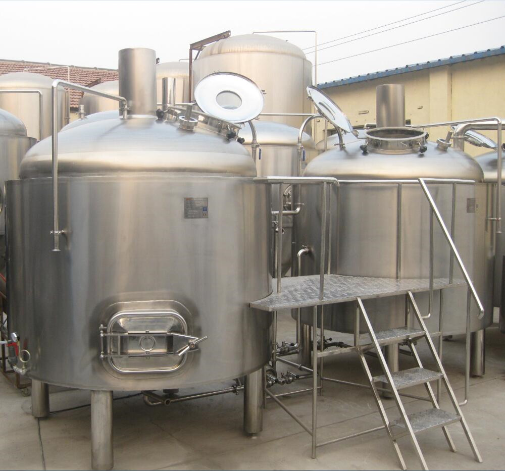 2000L Craft beer brewery equipment/fermentation tank/complete brewing system