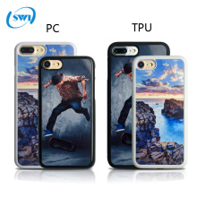 2017 hot selling high quality heat transfer Sublimation Case Cover Hard pc DIY Phone Case custom for iphone 6
