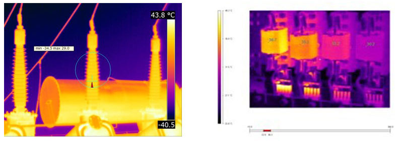 Long distance Temperature Detection explosion-proof infrared thermal imaging Camera