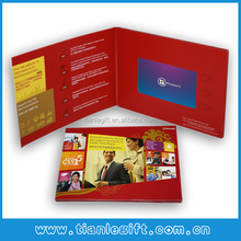 HOT SELLING GREETING VIDEO CARD OEM /ODM