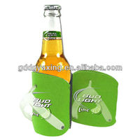 Slippers type neoprene beer bottle cooler, stubby holders