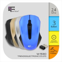 high quality cheap optical wireless computer mouse W530 usb wireless mouse