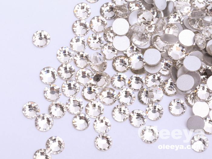 High Quality Competitive Prices 2028 Crystal Non hotfix Rhinestone Flatback Stone For Decorations