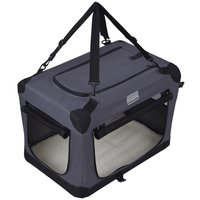 Indoor/Outdoor Pet Home Collapsible Foldable Dog Crate Deluxe Pet Carrier for Dog Kennel
