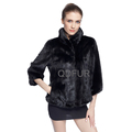 QD70828 China Supplier Women Winter Short Whole-hide Mink Clothes Alibaba China