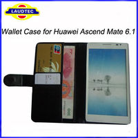 Flip PU Leather Case Wallet Cover For Huawei Ascend Mate 6.1