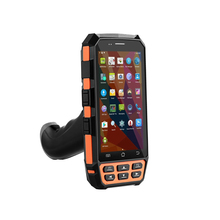 Top Quality 4G Android 5.1 OS rugged PDA data terminal mobile portable 2d qr code scanner