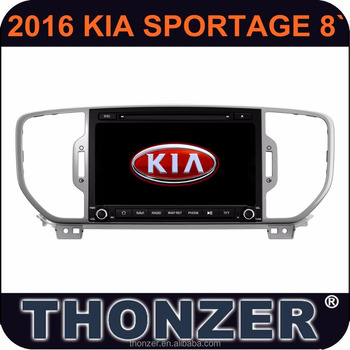 "CAR DVD PLAYER with GPS FOR 8"" 2016 Sportage"