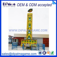 attraction design amusement park in playground equipment frog jump DMP model No.228