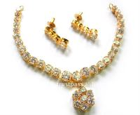 Necklace set with earring Indian Jewellery