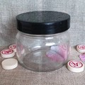 200ml wide -mouth glass empty mason jar with plastic cap